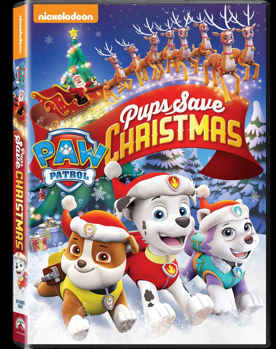 Paw Patrol: Pups Save Christmas (DVD).