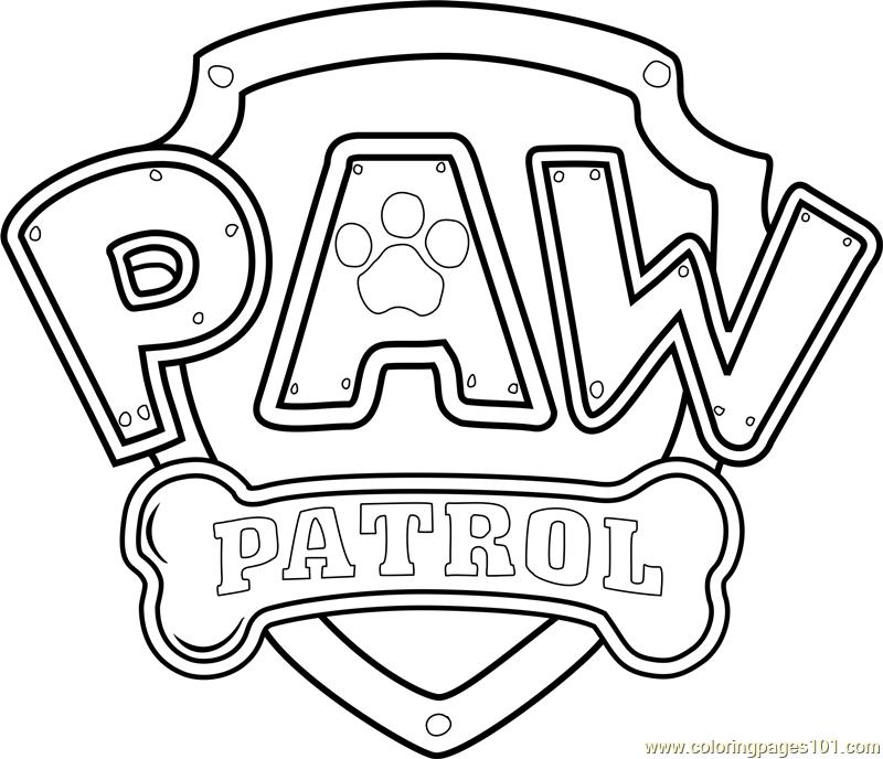 PAW Patrol Badge Template PDF.