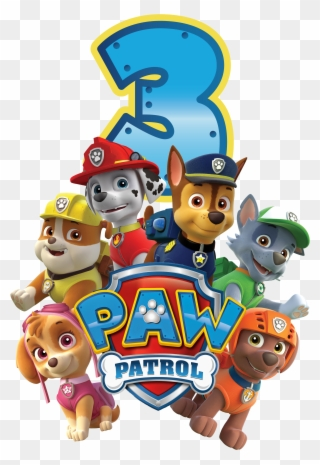 Free PNG Paw Patrol Birthday Clip Art Download.