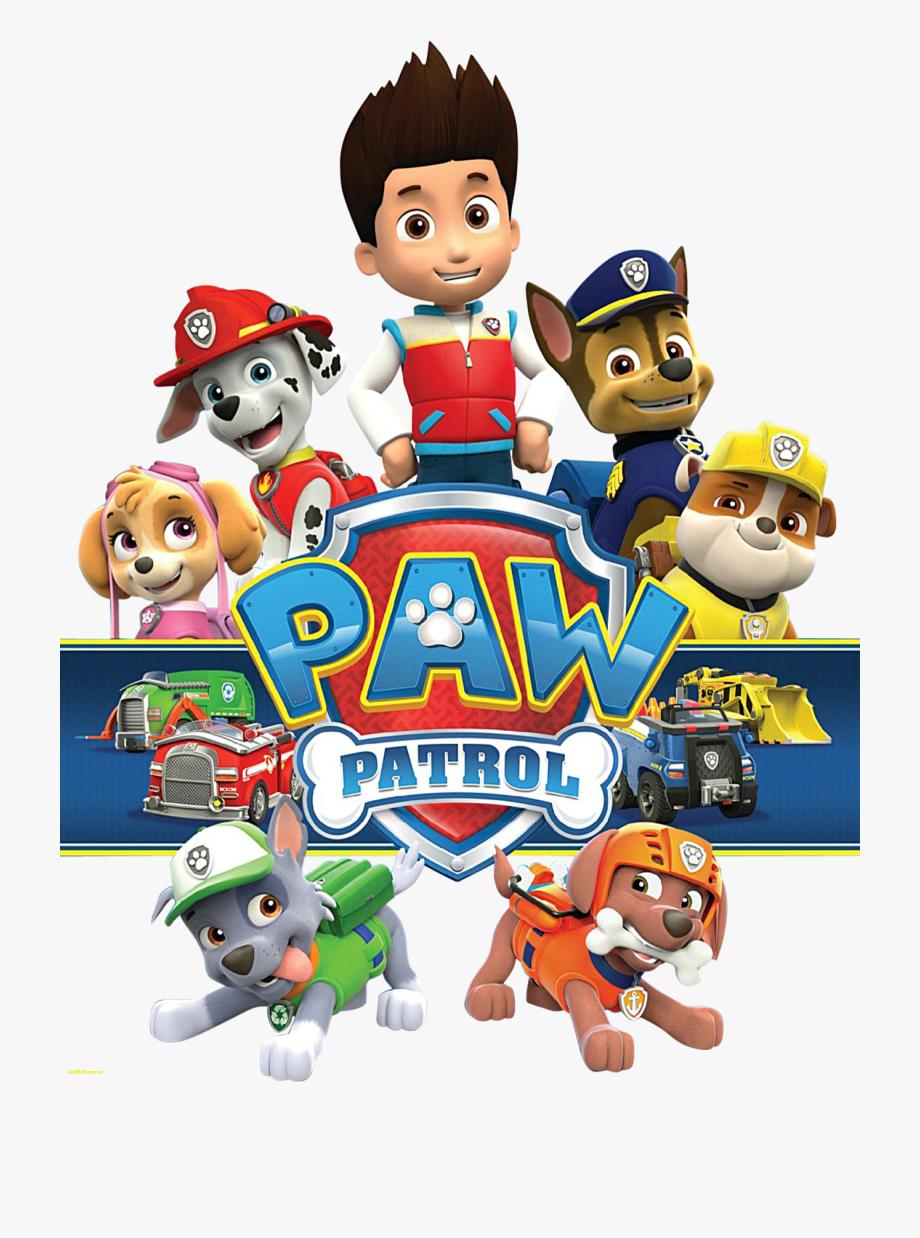Paw Patrol Clipart.