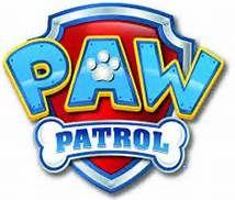 paw patrol logo template.