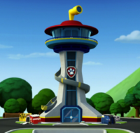 Paw Patrol Lookout Tower Cake Pictures.