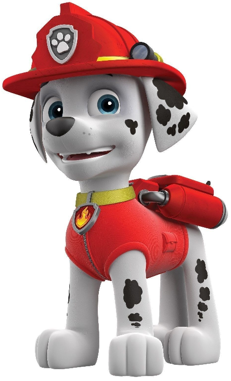 Paw Patrol: Free Printable Mini Kit of Marshall..