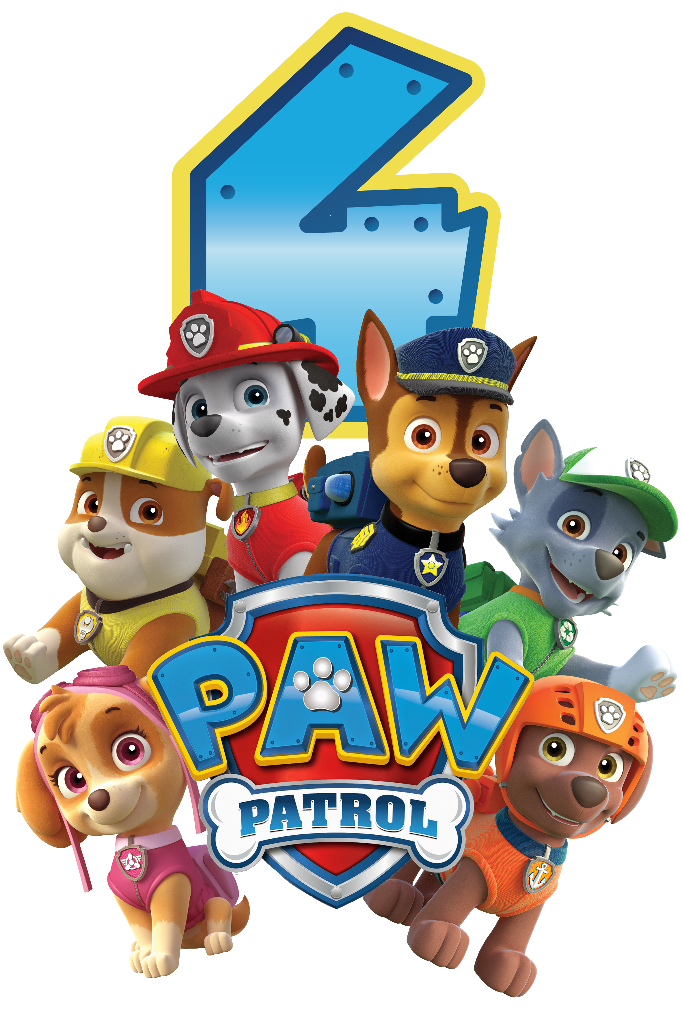 Paw Patrol All Character Png Kids 5.