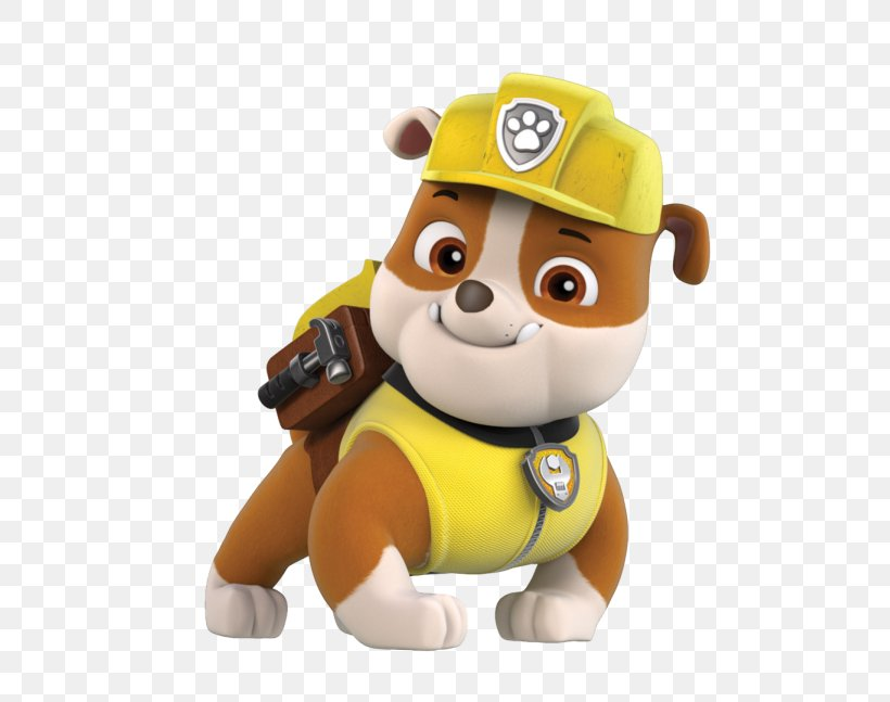 Bulldog Clip Art Paw Patrol, Air Rescue Rubble, Pup Pack.