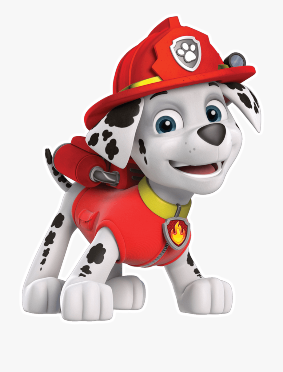 Marshall Paw Patrol Characters, Cliparts & Cartoons.