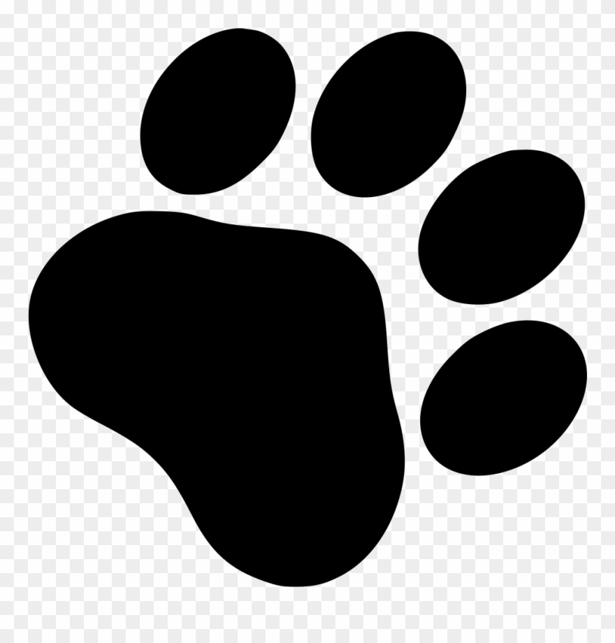 Free Dog Paw Png Clip Free Library.