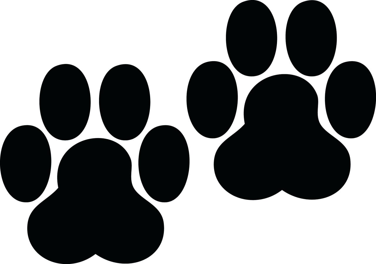 Dog paw print clip art free download 25.