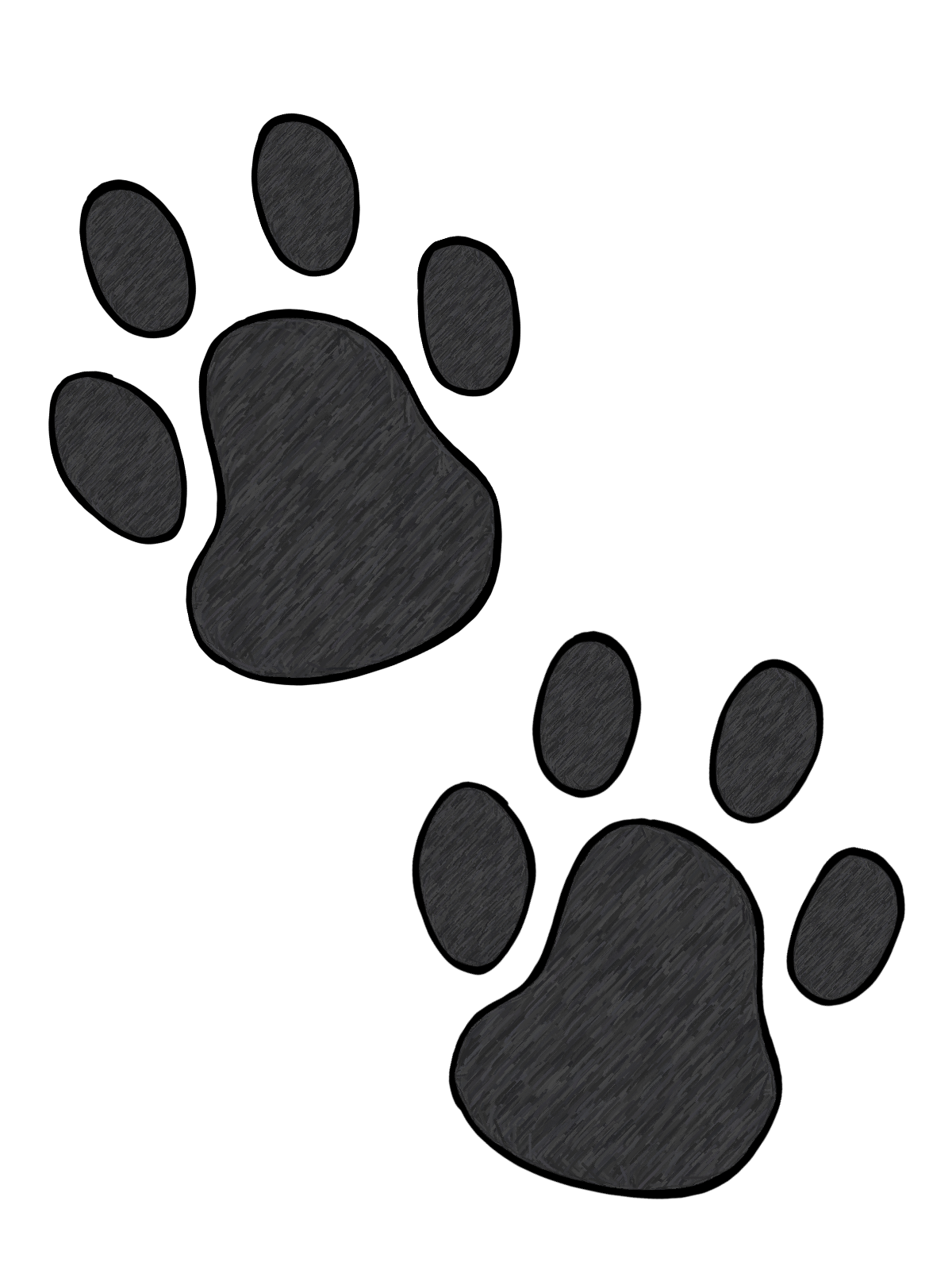 Free Paw Print Pictures, Download Free Clip Art, Free Clip.