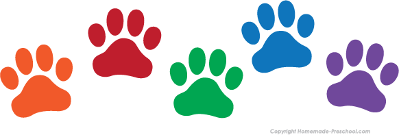 Image result for purple and green dog clipart