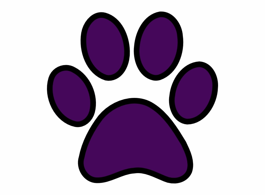 Paw Prints Tigers Paw Print Clipart Free To Use Clip.