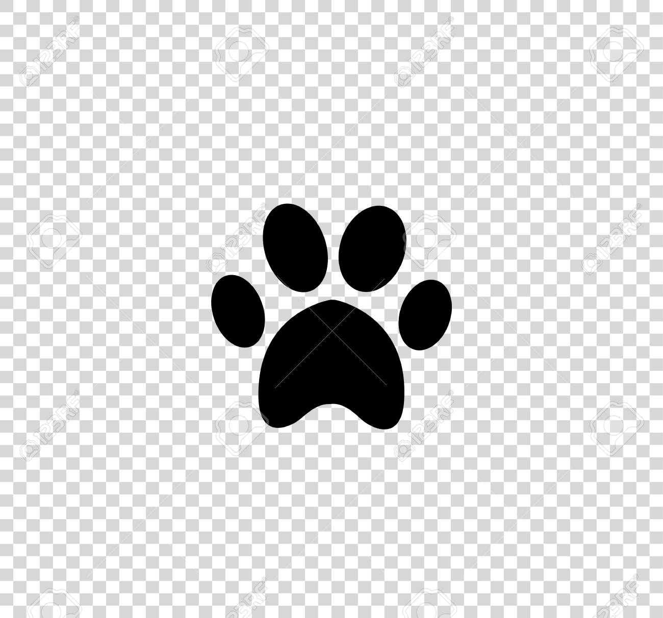 Paw Print No Background & Free Paw Print No Background.png.