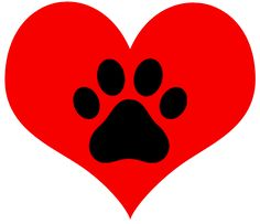 Dog paw print Clipart png transparent.