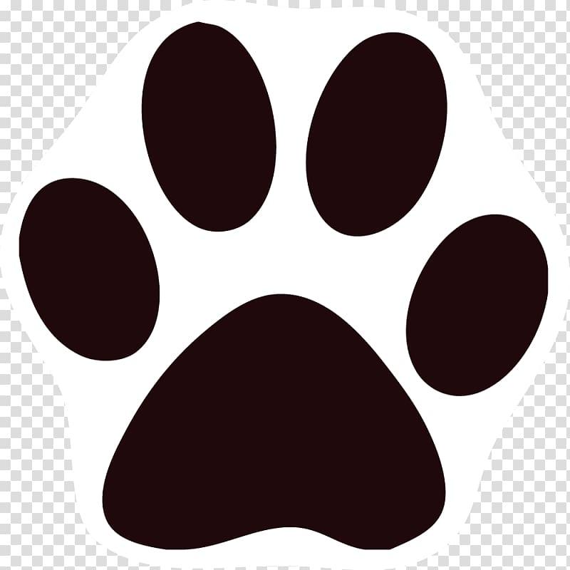 Cat Dog Paw Printing , Black Cat transparent background PNG.