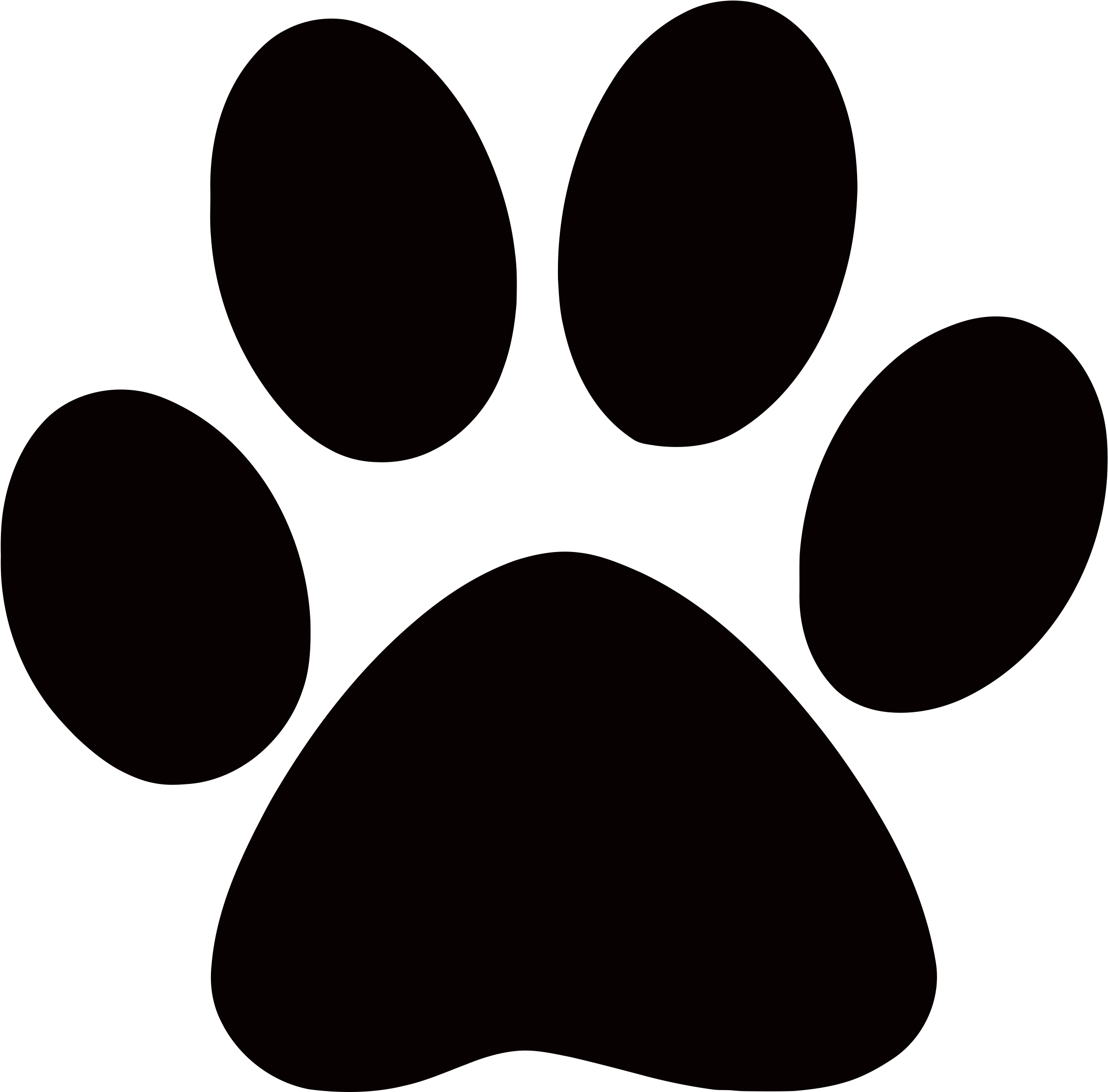 Free Paw Print Clip Art Transparent Background, Download.