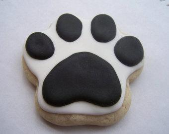 Paw sugar cookies.
