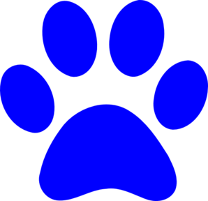 Clip art panther paw print free clipart images clipartcow 2.
