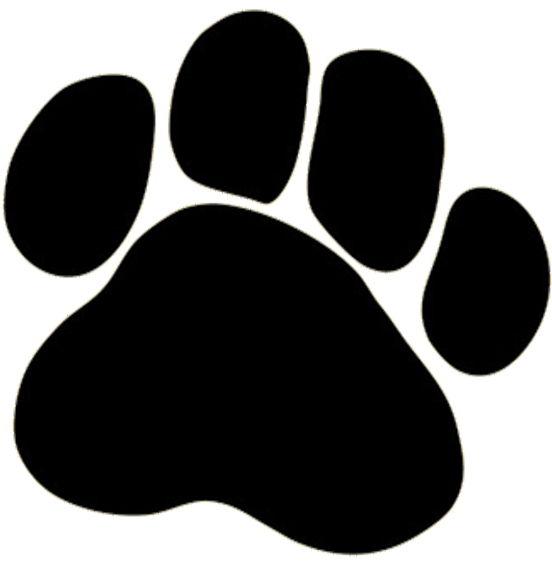 Dog Foot Clipart.