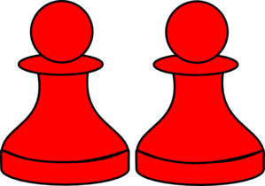 Red Pawn Clip Art at Clker.com.