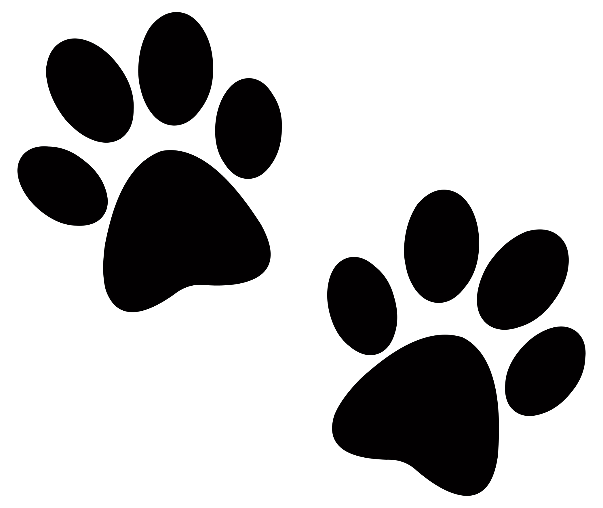 Paw Print Free Dog Clip Art On Clipart Transparent Png.