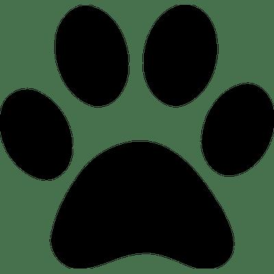 Dog Paw Print transparent PNG.
