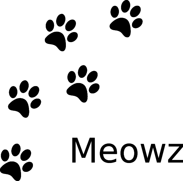 Cat Paw Prints Clip Art at Clker.com.