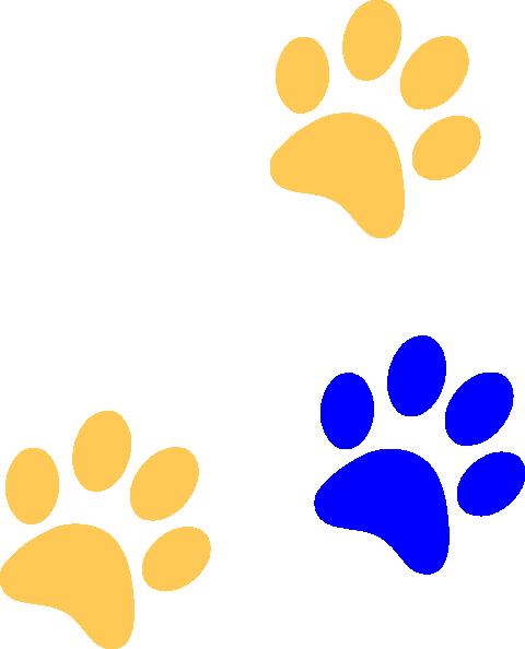 Lion Paw Print Clipart.
