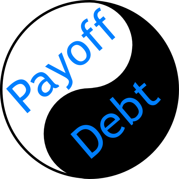Pay Off Debt Clipart.