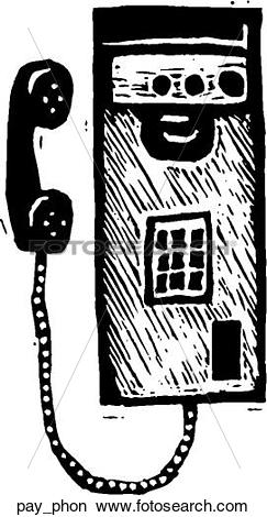 Clipart of Pay Phone pay_phon.