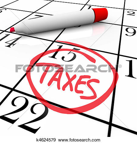 Stock Illustration of Tax Time k1671476.
