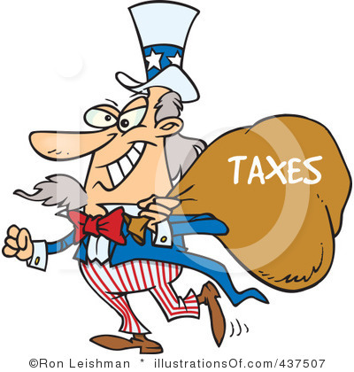 Pay Tax Clipart.