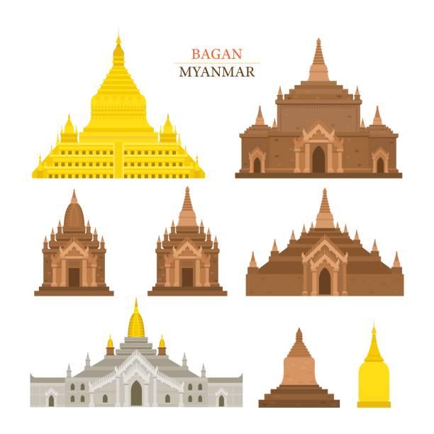 Shwezigon Paya Clip Art, Vector Images & Illustrations.