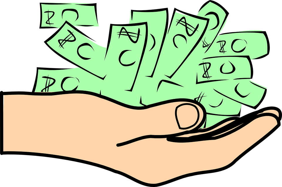 Paying tax clipart.