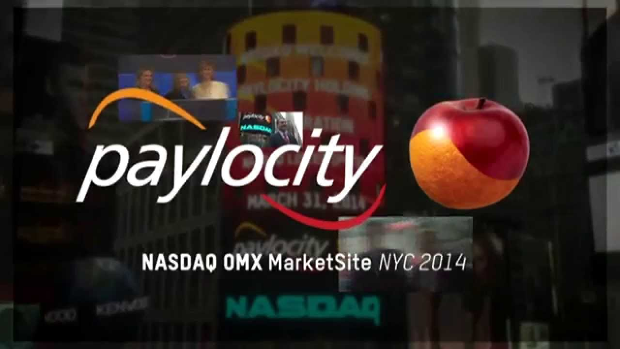 Paylocity IPO NASDAQ Celebration.