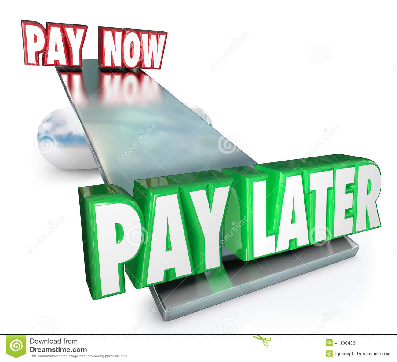 Installment Payment Clip Art.