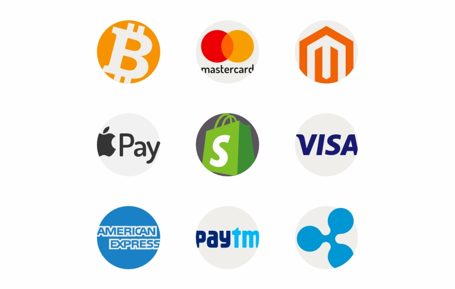 Ecommerce And Payment Method Logos Online Payment Methods.
