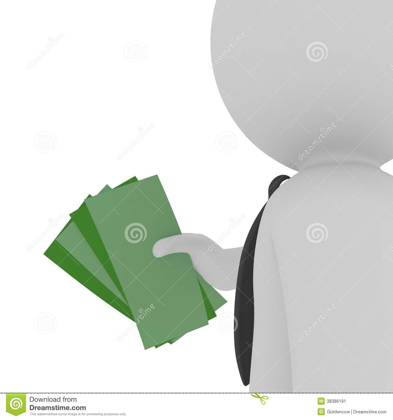 Payout Stock Image.