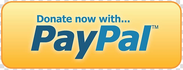Paypal logo, Donate With Paypal Button transparent.