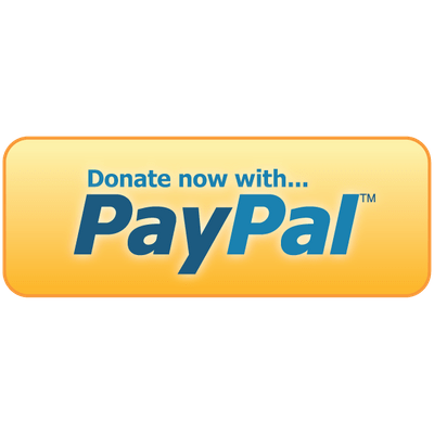 Donate With Paypal Button transparent PNG.