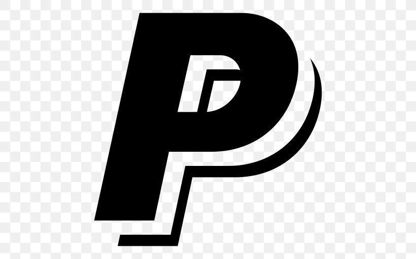 PayPal Logo Download, PNG, 512x512px, Paypal, Area, Black.