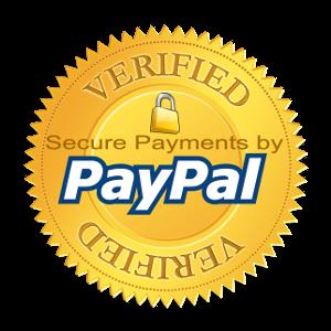 HD PayPal Verified Logo.