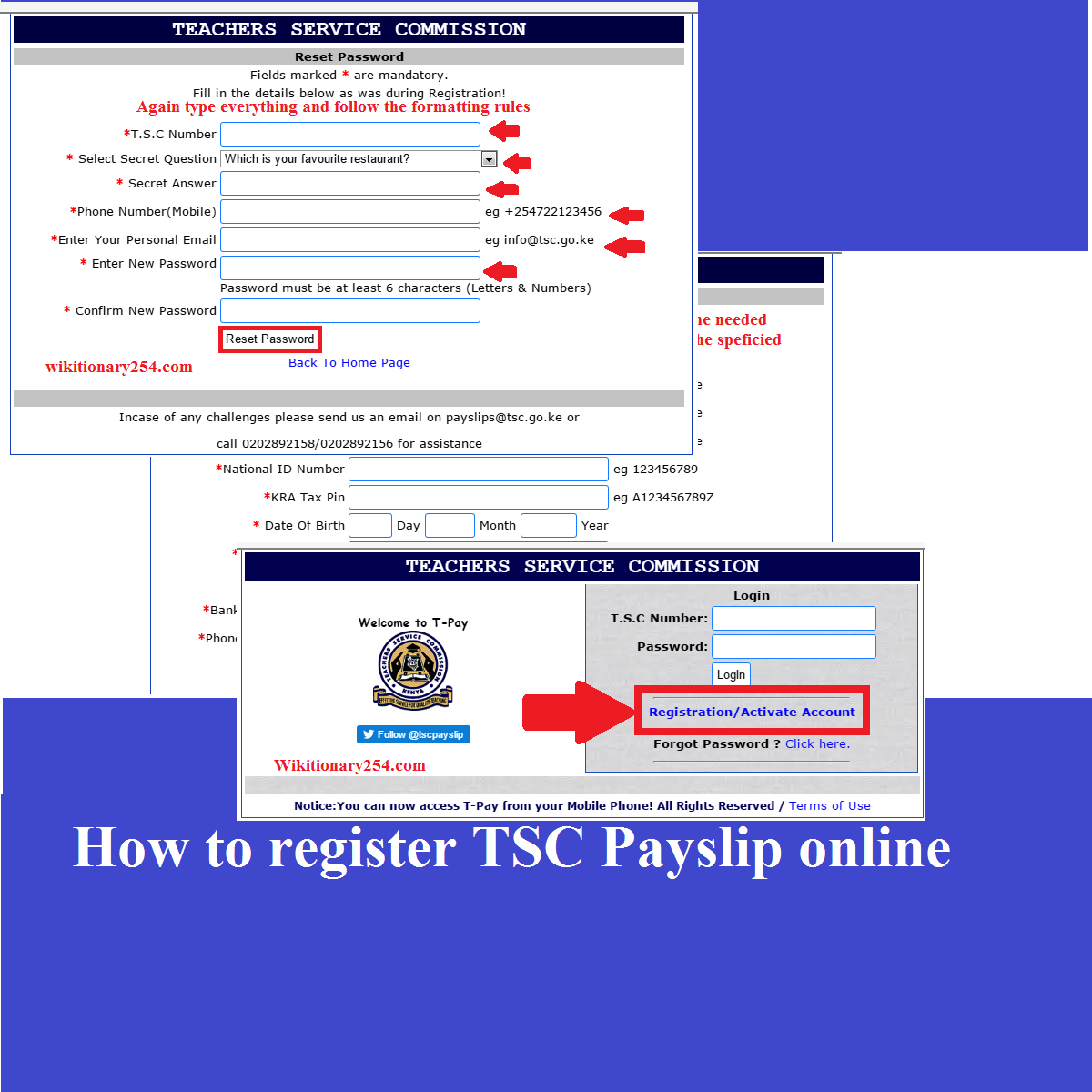 TSC Payslip Online: Here is how to register and download.