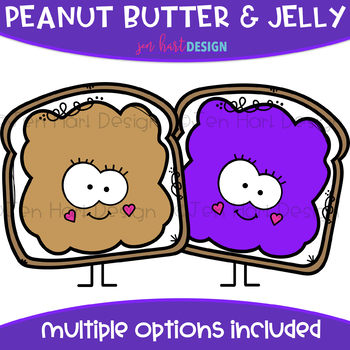 Peanut Butter And Jelly Clipart Worksheets & Teaching.