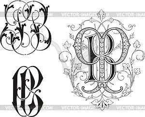 Monogram PB.