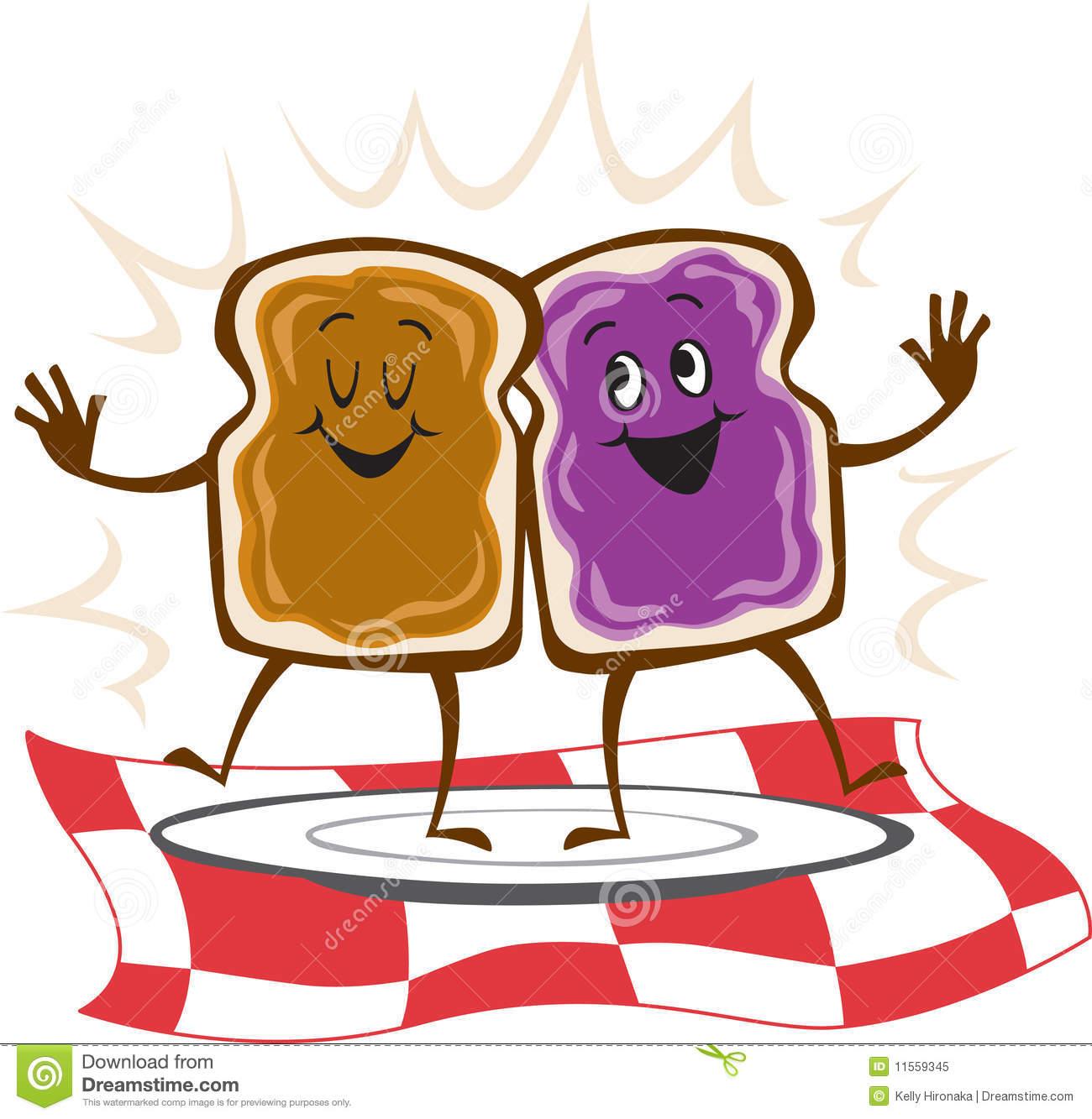 Pb&j Sandwich Clipart.