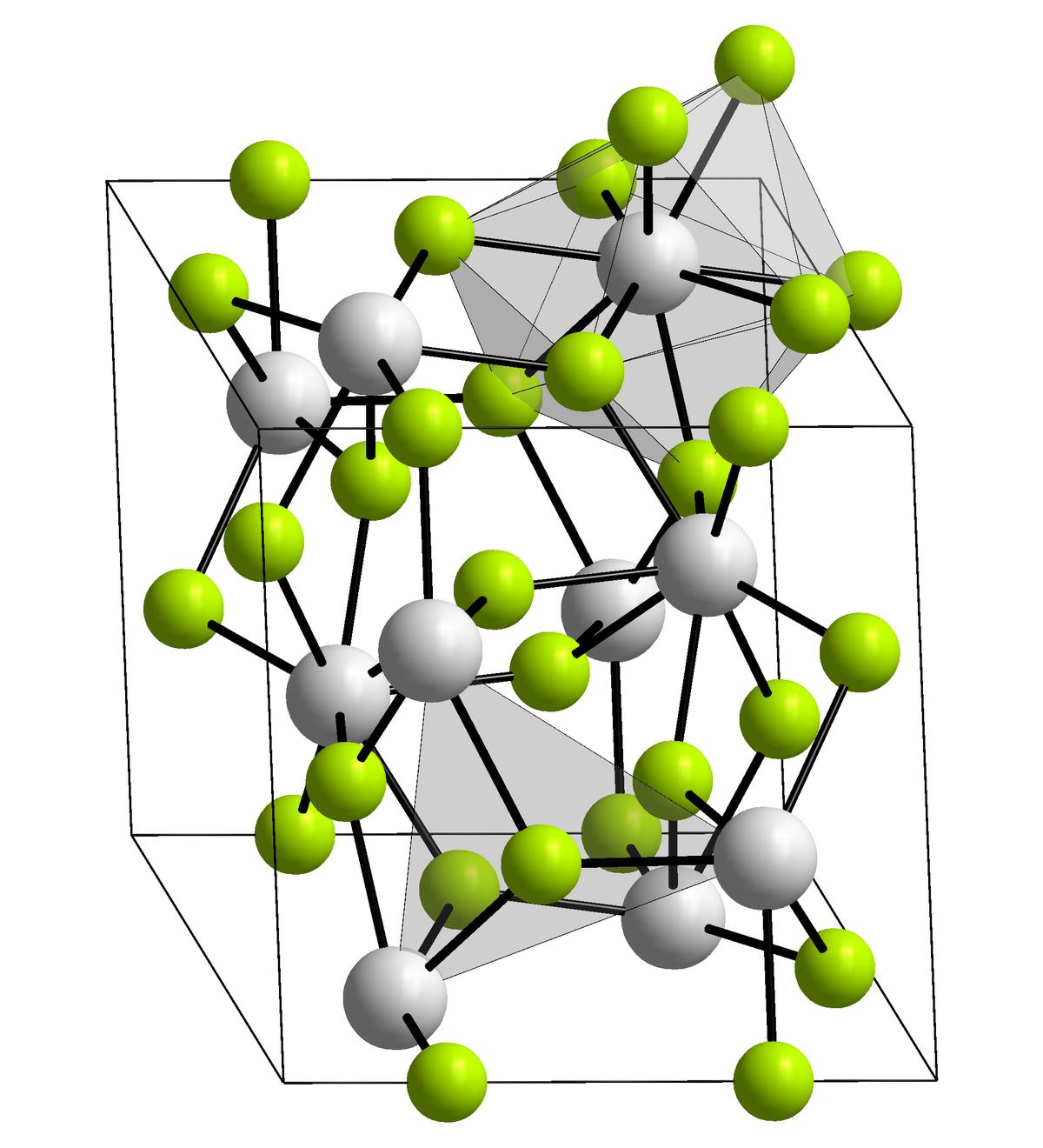Actinium fluoride.