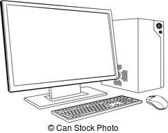Desktop pc Illustrations and Clipart. 49,775 Desktop pc.