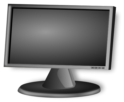 Pc Monitor Clipart.