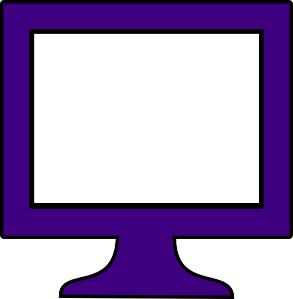 Free Picture Of A Computer Monitor, Download Free Clip Art.