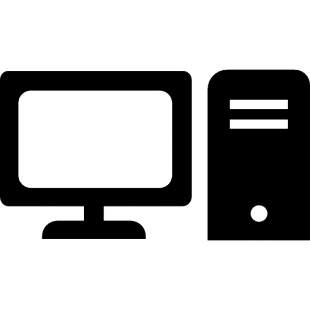Computer, desktop, electronics, pc icon #32248.